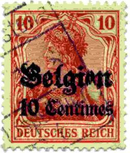 Duitsland Belgie 10 pf